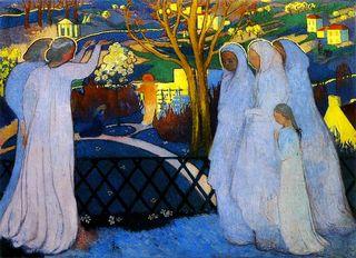 Les saintes femmes au tombeau - MauriceDenis